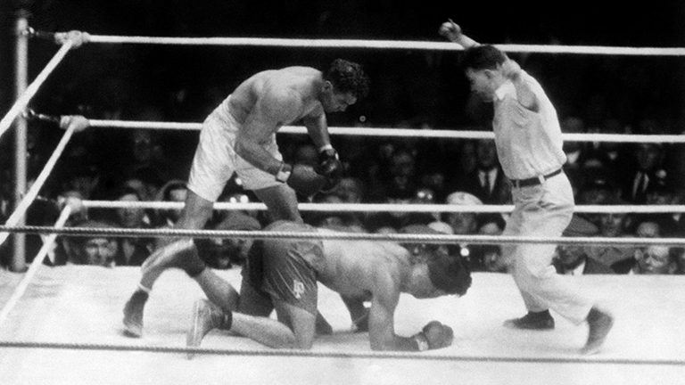 jack dempsey luis firpo