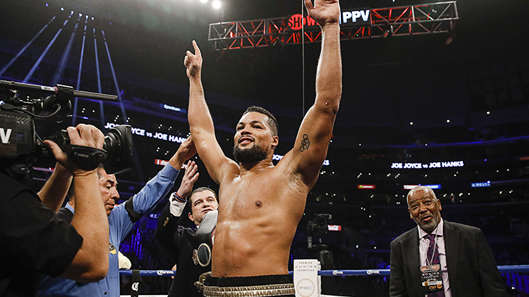 Joe Joyce on Jarrell Miller