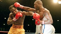 Nigel Benn vs Chris Eubank