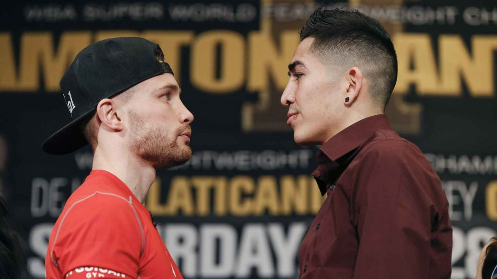 Carl Frampton vs Leo Santa Cruz fight time