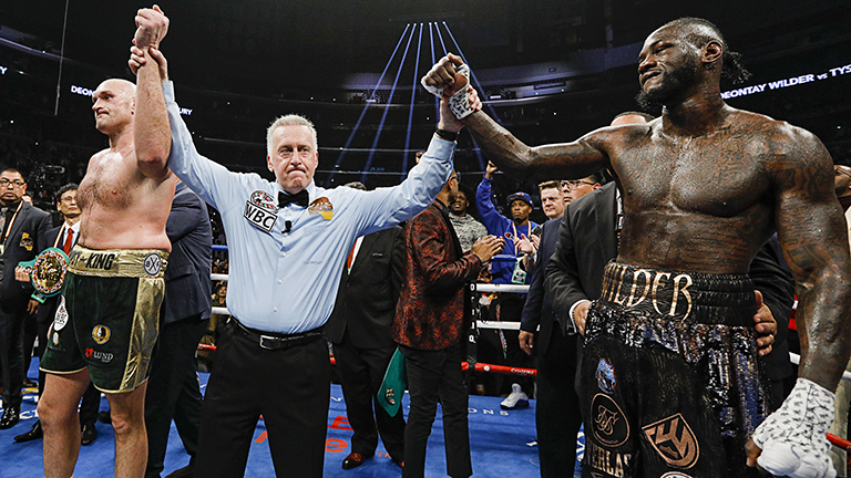 Deontay Wilder boxing results