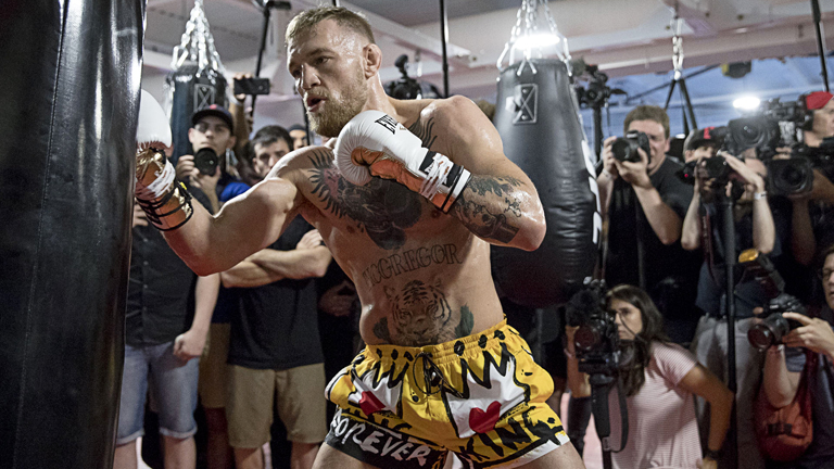 Conor McGregor Workout