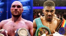 Tyson Fury v Anthony Joshua