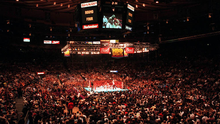 When Lennox Lewis came to Madison Square Garden - Boxing News