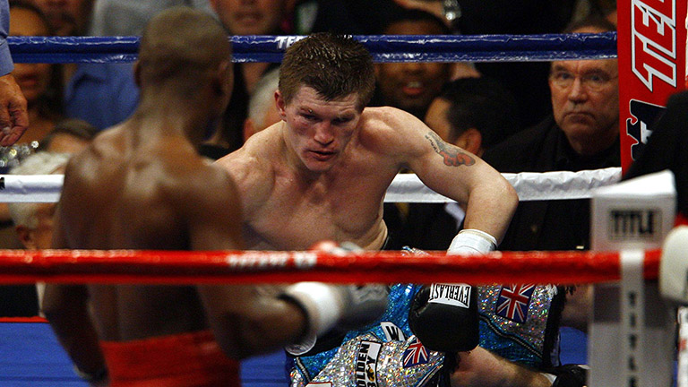 Floyd Mayweather vs Hatton
