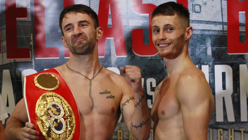 Lee Haskins vs Ryan Burnett fight time