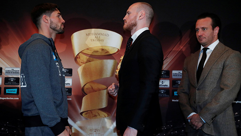 George Groves vs Jamie Cox fight time