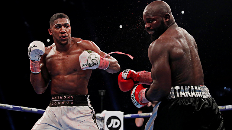 Anthony Joshua vs Carlos Takam