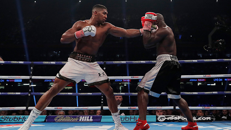 Anthony Joshua vs Carlos Takam who won