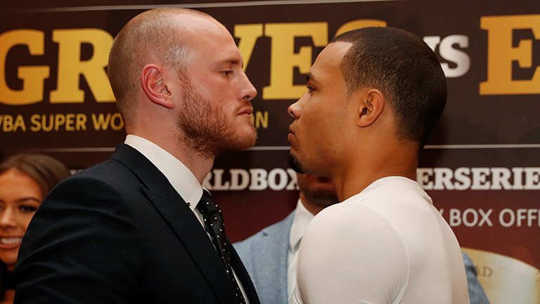 George Groves vs Chris Eubank Jr fight time