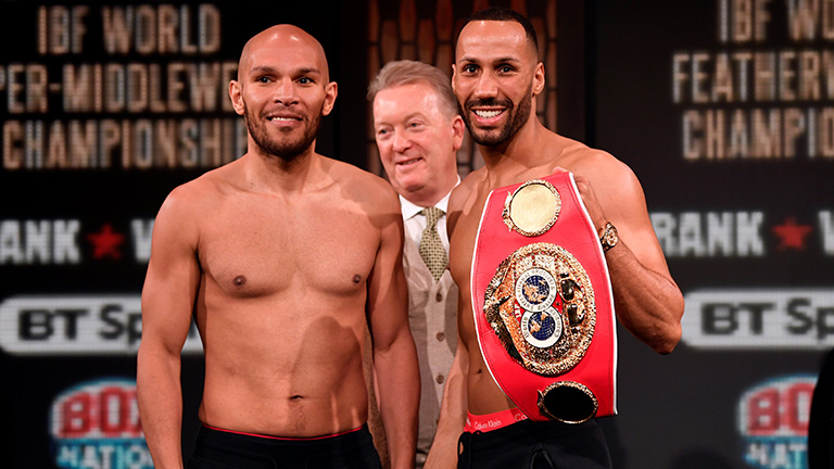 James DeGale fight time