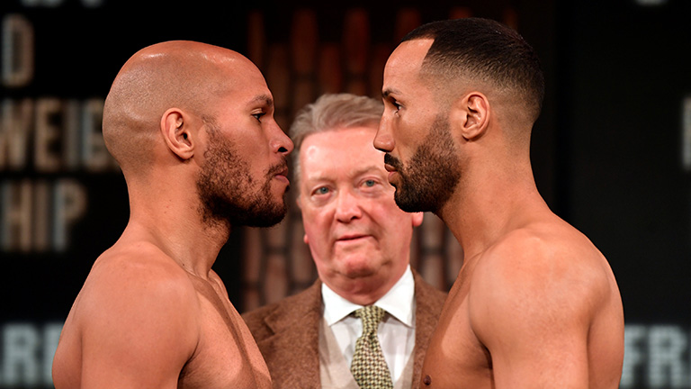 James DeGale vs Caleb Truax