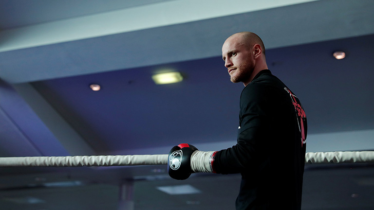 How George Groves trains