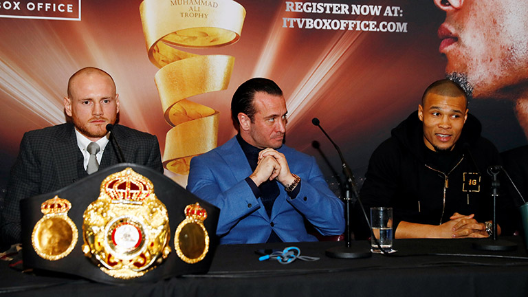 George Groves vs Chris Eubank Jr judges