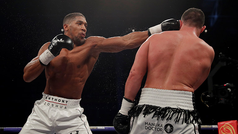 Weekly Boxing Results Round Up Anthony Joshua And Much Much