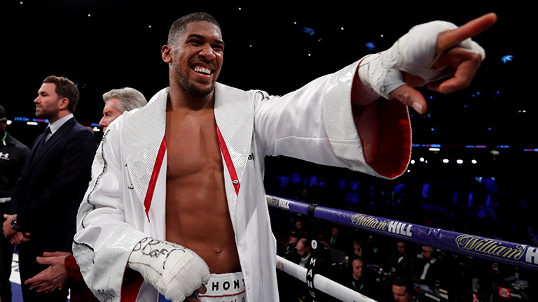 Anthony Joshua next fight