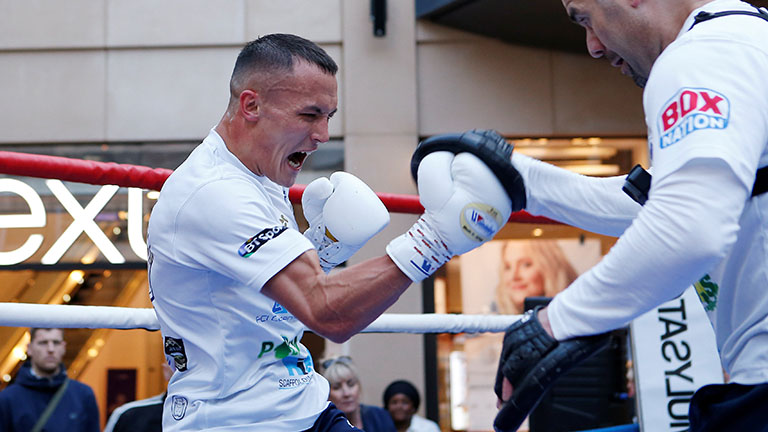 Lee Selby vs Josh Warrington fight time