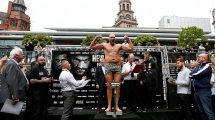 Tyson Fury weigh in