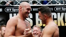 Tyson Fury fight time