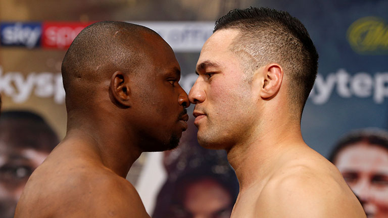 Dillian Whyte vs Joseph Parker fight time
