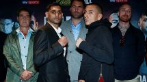 Amir Khan fight time