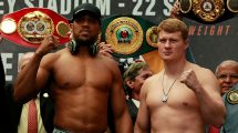 Anthony Joshua vs Alexander Povetkin fight time