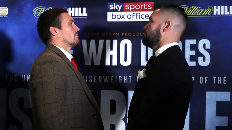 Oleksander Usyk vs Tony Bellew