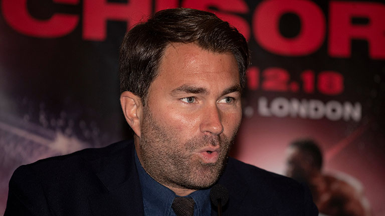 Eddie Hearn on Matchroom