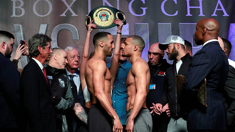 James DeGale vs Chris Eubank Jr fight time