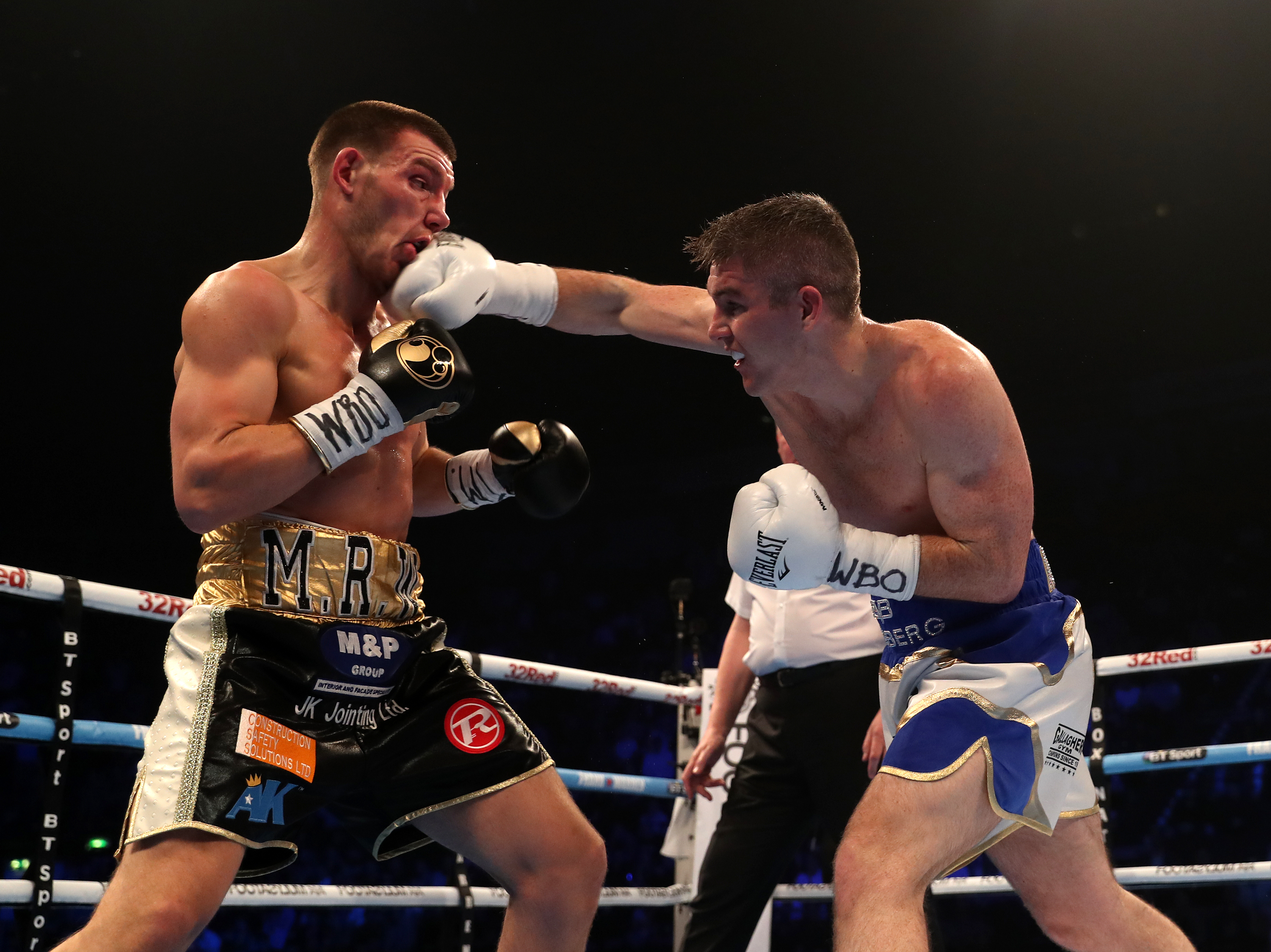 Liam Smith takes on Liam Williams in the Super-Welterweight Championship match