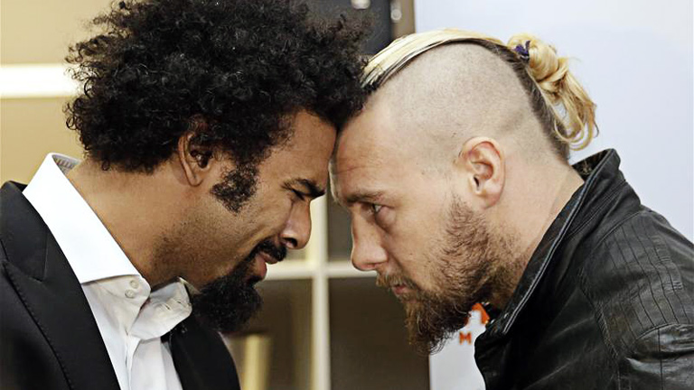 David Haye fight v Mark De Mori