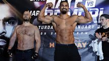 David Haye's weight v Mark de Mori