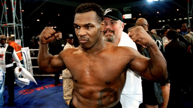Mike Tyson returned to boxing two years later and beat Julius Francis and Lou Savarese on British soil (Jon Buckle/Empics)