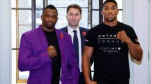 Anthony Joshua fight time v Dillian Whyte