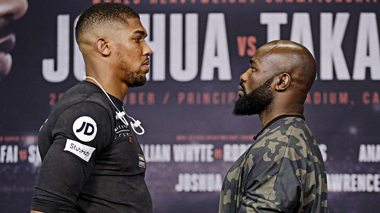 Anthony Joshua fight what time
