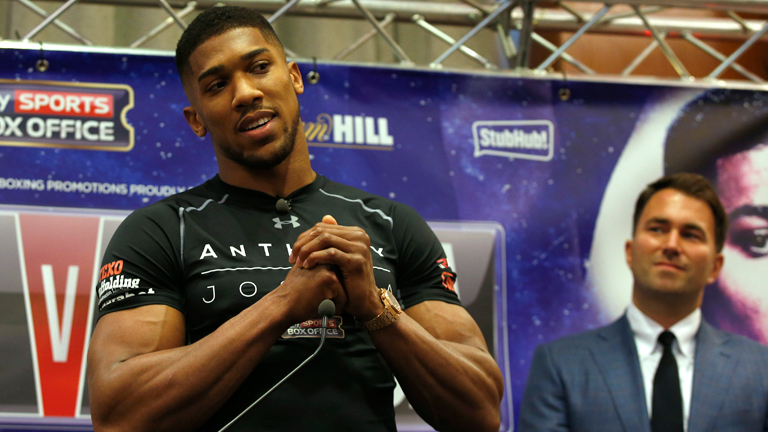Anthony Joshua v Tyson Fury