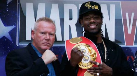 Anthony Joshua vs Charles Martin features Paul Cain