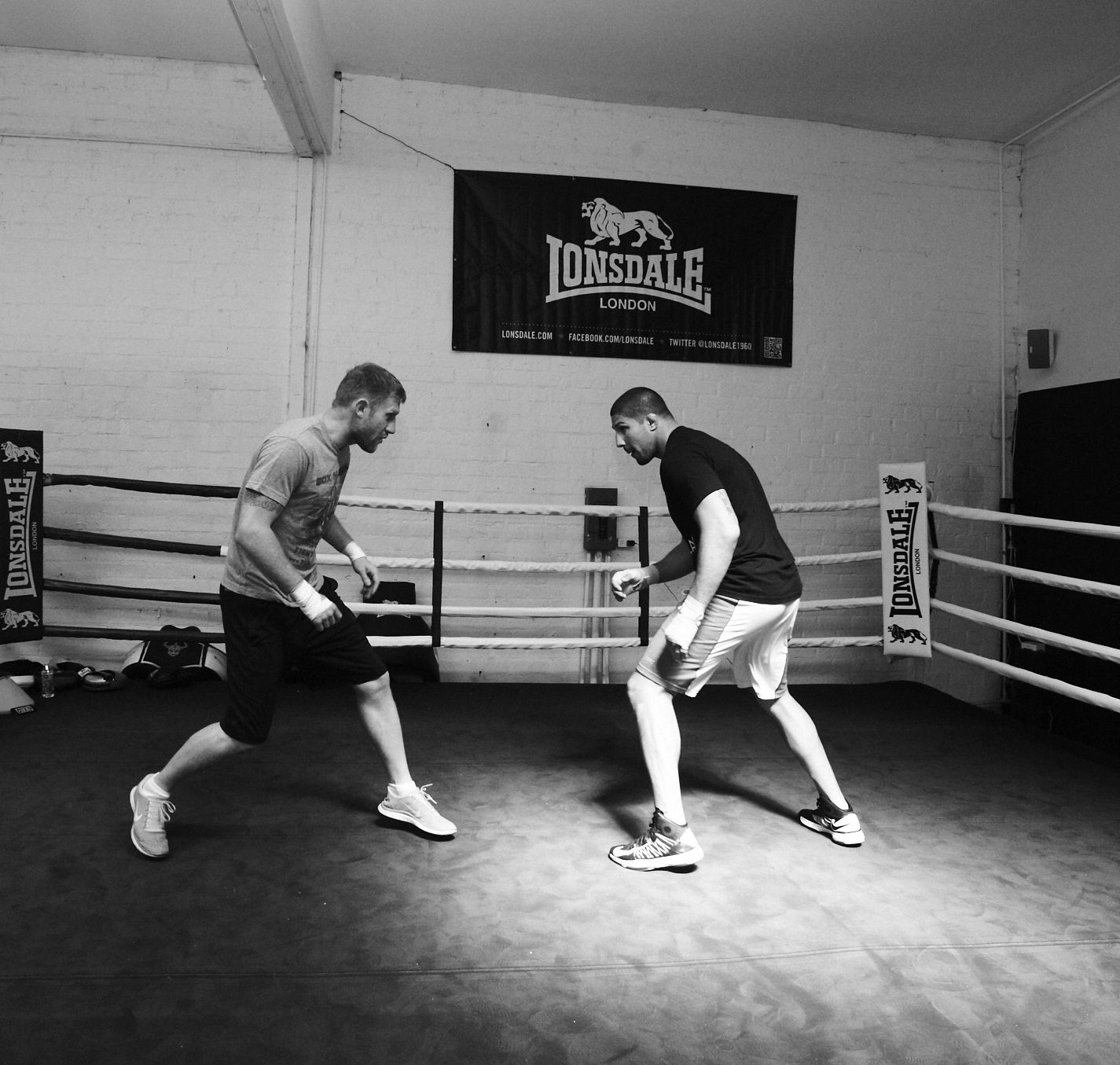 teaching boxing