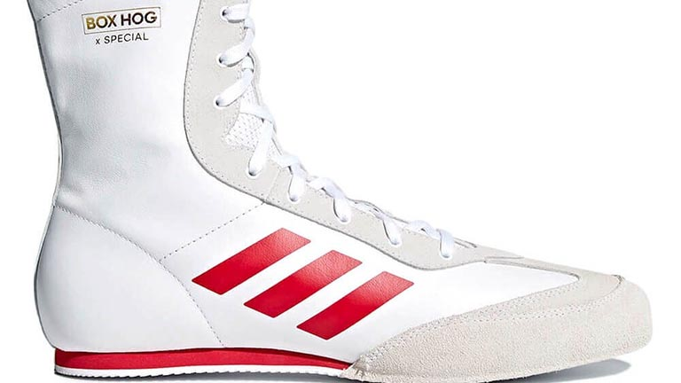 White|Gold Boxing Adidas Speedex 16.1 Boxing Shoes Mens