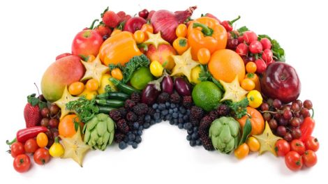 Boxing Fitness fruit and vegetables