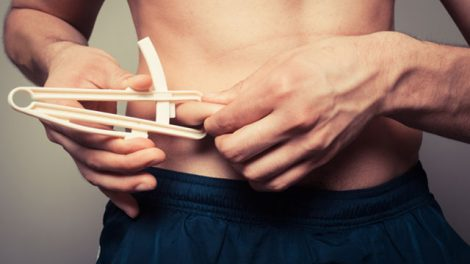 Body-fat testing with calipers
