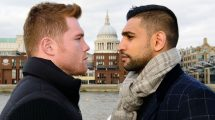 Canelo Alvarez-Amir Khan press conference