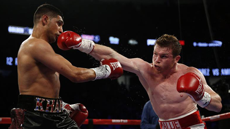 Canelo vs Khan boxing