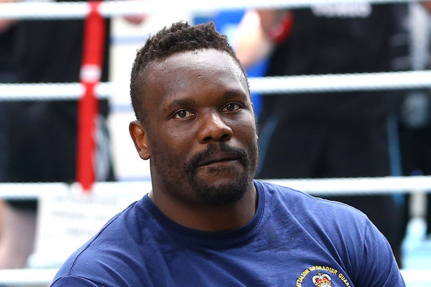 Dereck Chisora fight time