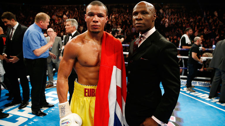 Chris Eubank Jr and Chris Eubank Sr