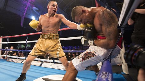 Chris Eubank Jr vs Renold Quinlan