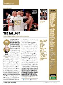 Chris Eubank column