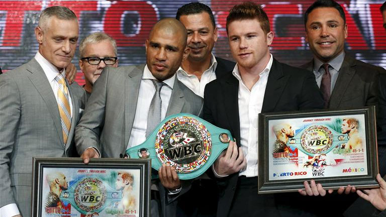 Cotto-Canelo hold WBC belt