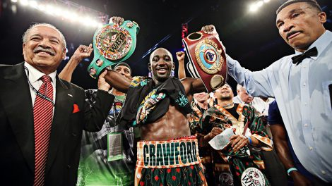 Terence Crawford, undisputed world champion