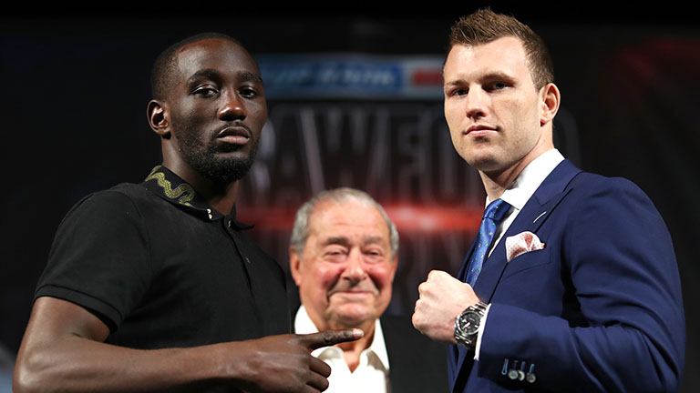 Jeff Horn vs Terence Crawford fight time
